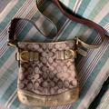 Coach Bags | Coach Signature Khaki Shoulder Bag | Color: Brown/Tan | Size: Os
