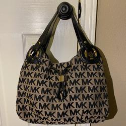 Michael Kors Bags | Michael Kors Medium Logo Tote Bag | Color: Black | Size: Medium Tote