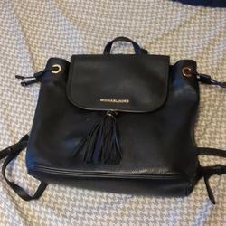 Michael Kors Bags   Michael Kors Bedford Leather Backpack Bucket Bag   Color: Black   Size: Os