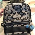 Coach Bags | Coach Mini Backpack | Color: Black/Gray | Size: Os