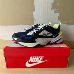 Nike Shoes   Mens Nike M2k Tekno Casual Shoes   Color: Blue/Silver   Size: Various