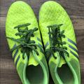 Adidas Shoes   Mens Indoor Soccer Shoes   Color: Green   Size: 6.5