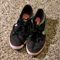 Nike Shoes | Nike Canvas Shoe Size 8 | Color: Black | Size: 8