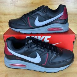 Nike Shoes | Nike Air Max Command Casual Shoes Black Noble Red | Color: Black/Red | Size: Various