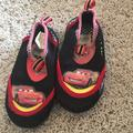 Disney Shoes | Disney Cars Size 78 Water Shoes | Color: Black/Red | Size: 78