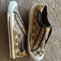 Coach Shoes | Coach Shoes | Color: Brown/Gold | Size: 6