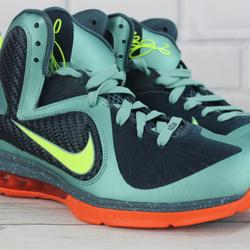 Nike Shoes   Nike Lebron Ix Cannons Basketball Shoes 10.5   Color: Green/Orange   Size: 10.5