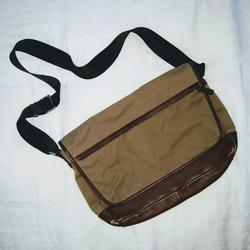 Coach Bags   Coach Leather And Canvas Messenger Bag   Color: Brown/Tan   Size: Os