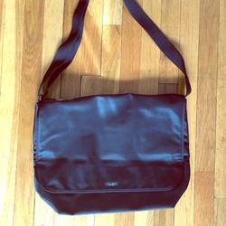 Kate Spade Bags | Kate Spade Nylon Laptop Messenger Bag | Color: Black | Size: Os