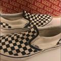 Vans Shoes | Girls Vans Sneakers Shoes | Color: Black/White | Size: 3bb
