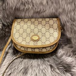 Gucci Bags   Gucci Sling Bag!   Color: Brown/Tan   Size: Approx. 7 X 5 X 3
