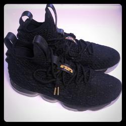 Nike Shoes   Lebron Basketball Shoes   Color: Black/Gold   Size: 11