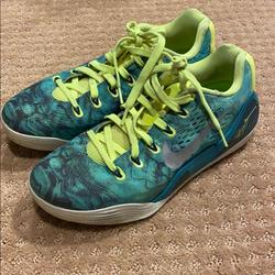 Nike Shoes   Nike Kobe Bryant Basketball Shoes   Color: Green/Yellow   Size: 7.5