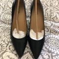 Michael Kors Shoes | New Michael Kor Black Leather Stiletto Heels | Color: Black | Size: 6