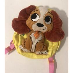 Disney Bags | Lady And The Tramp Kids Backpack | Color: Yellow | Size: Os