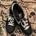 Nike Shoes   Nike Mens Black Leather Tennis Shoes Size 14   Color: Black/White   Size: 14
