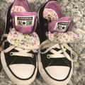 Converse Shoes | Little Girls Converse Size 12 | Color: Black/Purple | Size: Little Girls 12