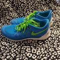 Nike Shoes | Nike Free 5.0 | Color: Blue/Green | Size: 10.5