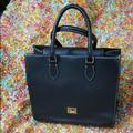 Dooney & Bourke Bags | Dooney & Bourke Leather Flap Shoulder Bag | Color: Black | Size: Os