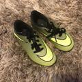 Nike Shoes | Nike Soccer Shoes | Color: Black/Green | Size: 10b