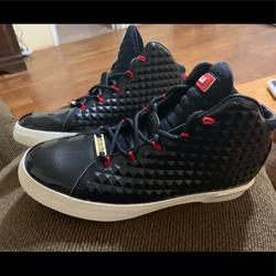 Nike Shoes | Nike Lebron Shoes (Used) | Color: Black/Red | Size: 10.5