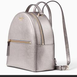 Kate Spade Bags   Katesammi Patterson Dr. Small Leather Backpack   Color: Gray   Size: Os