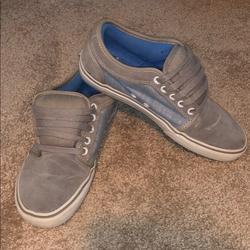 Vans Shoes   Blue & Gray Vans   Color: Blue/Gray   Size: 8