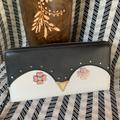 Kate Spade Bags | Kate Spade Large Continental Wallet Kate Spade | Color: Black/White | Size: Os
