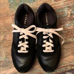 Coach Shoes | Coach Casual Sneaker! | Color: Black | Size: 6.5