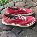 Levi's Shoes   Men 8.5womens 9.5 Levis Red Styled Vans Canvas   Color: Red/White   Size: 9.5