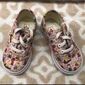 Vans Shoes | Pink Peanuts Vans Toddler Girl Shoes | Color: Pink | Size: 5 (Toddler Girl)