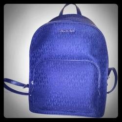 Michael Kors Bags | Michael Kors Backpack New | Color: Blue | Size: Michael Kors Backpack Newmeasures 11 By 13 Inch