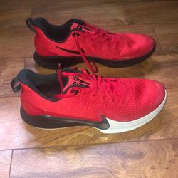 Nike Shoes   Kobe Bryant Basketball Shoes   Color: Black/Red   Size: 11.5