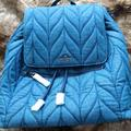 Kate Spade Bags   Kate Spade Nwt Blue Denim Quilted Backpack   Color: Blue   Size: Os