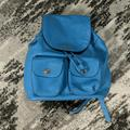 Coach Bags | Coach Backpack | Color: Blue/Silver | Size: Os