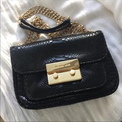 Michael Kors Bags | Michael Kors Sloan Small Shoulder Flap | Color: Black | Size: Os