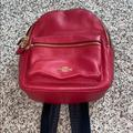 Coach Bags | Coach Purse Mini Backpack | Color: Red | Size: Os