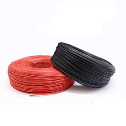LEYUANA Tinned copper Wire Silicone High Voltage Wire Cable,6KV 10KV 20KV 28 26 24 22awg 20awg 18awg 16awg High Temperature 150° 16AWG-20KV White