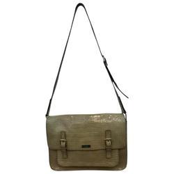 Kate Spade Bags   Kate Spade Animal Print Leather Messenger Bag   Color: Silver   Size: 14l X 3.5w X 10.5h