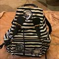 Burberry Bags | Burberry Black And White Stripe Backpack | Color: Black/White | Size: Os
