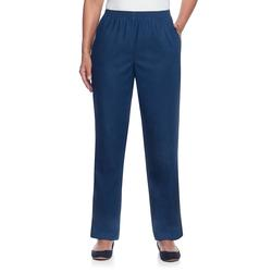 Alfred Dunner Women's Denim Pants and Jeans DENIM - Denim Classic Stretch Medium Pull-On Pants - Women, Women's Short, Plus & Petite Plus