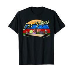 Las Vegas City Retro Vintage T-Shirt, Las Vegas Nevada NV T-Shirt