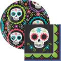 Creative Converting Day of the Dead Snack Party Supplies Kit for 24 GuestsPaper in Black/Green   Wayfair DTC4898E2C