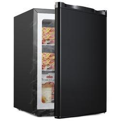 Northair 2.1 cu. ft. Upright Freezer in Black, Size 25.0 H x 21.0 W x 17.52 D in   Wayfair BD-60-E Black