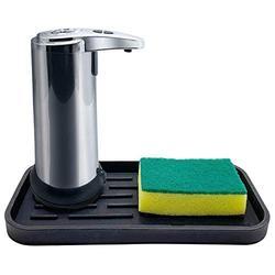 Automatic Soap Dispenser W/Free Sponge Caddy   Touchless Soap Dispenser   Soap Dispenser Touchless   Kitchen Soap Dispenser   Hand Soap Dispenser   Handsfree Soap Dispenser   Soap Dispenser Automatic