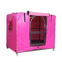 Housse Table de Jardin Cage Cover For Pets Cage De Chien Housse De Protection Imperméable Protecteur Résistant À La Pluie Hiver Chaleureux, 4 Couleurs, 3 Tailles