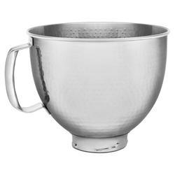 KitchenAid KitchenAid Stainless Steel Mixing Bowl, Stainless Steel in Silver/Brown, Size Large   Wayfair KSM5SSBHM