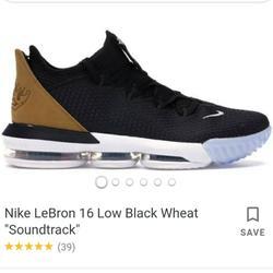 Nike Shoes   Nike Lebron James Basketball Shoes Sz 7.5   Color: Black/Tan   Size: 7.5