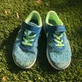 Nike Shoes | Nike Flex Contact Blue Lime Blastbarely Volt | Color: Blue/Green | Size: 2bb