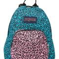 Urban Outfitters Bags | Jansport Half Pint Neon Mini Festival Backpack | Color: Blue/Pink | Size: Os